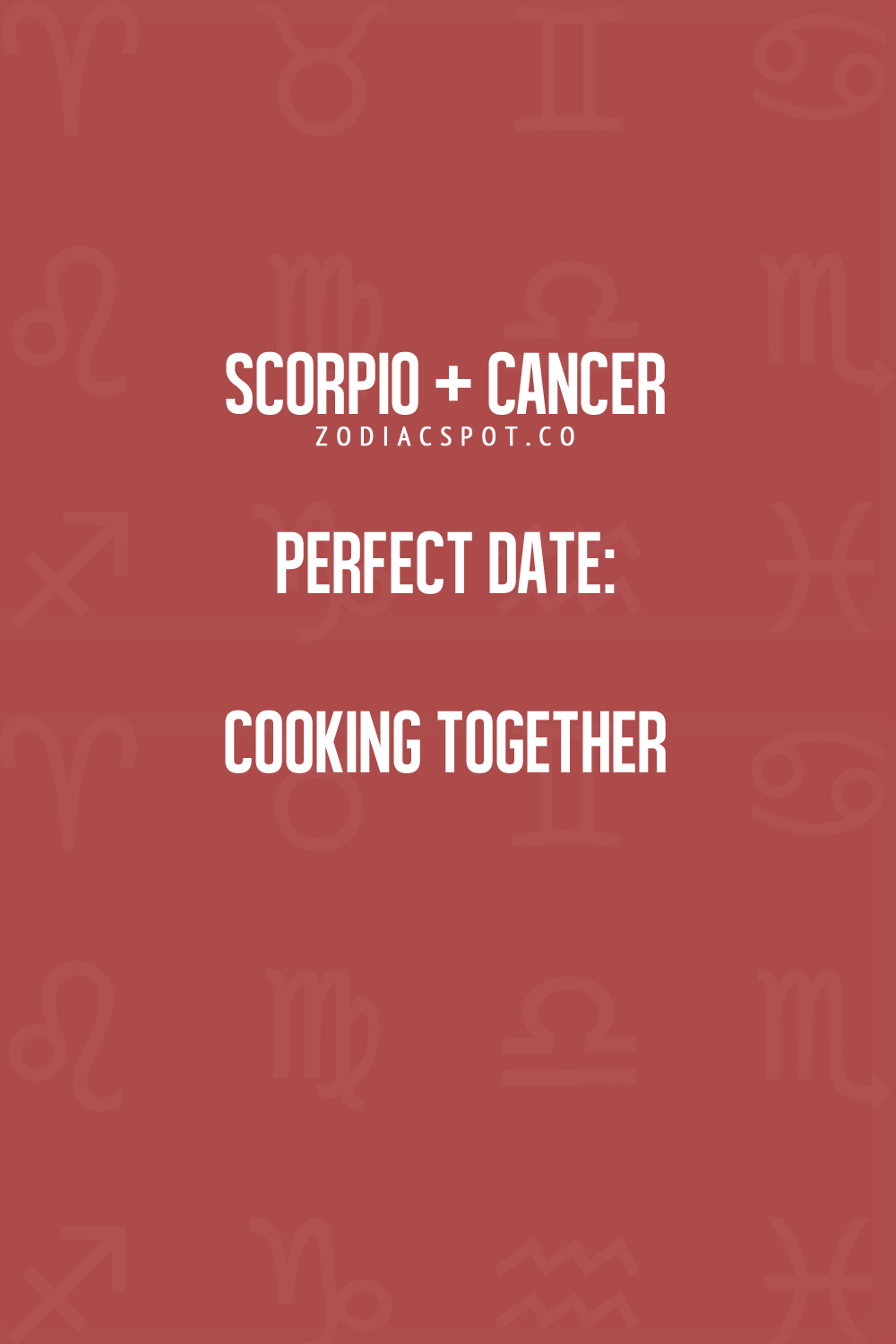 Cancer dating a scorpio quotes about being dangerous