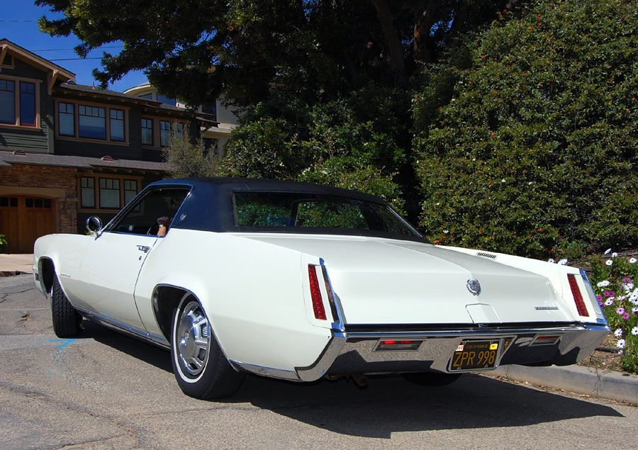 1967 Cadillac Eldorado left rear