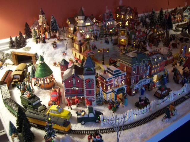 Christmas Village Ideas This Year They Built A Tunnel