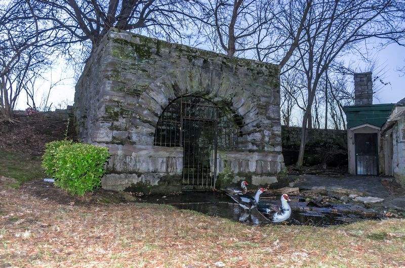 architecture photography springhouse waterfowl