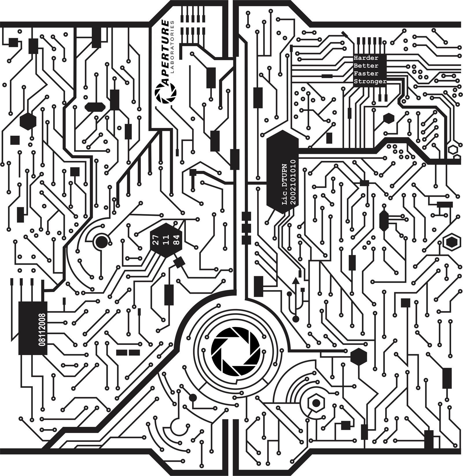 circuit board by animorphza on deviantart