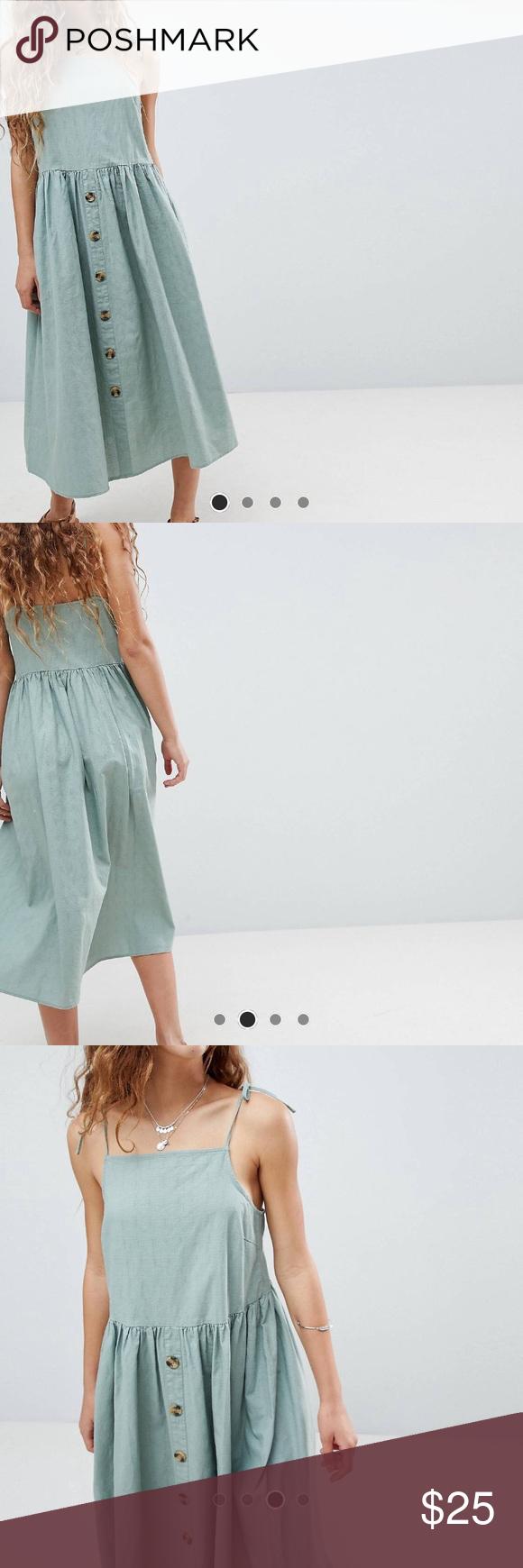 Urban Outfitters Button Down Tank Top Midi Dress Tank Top Midi Dress Urban Dresses Urban Outfitters Dress [ 1740 x 580 Pixel ]