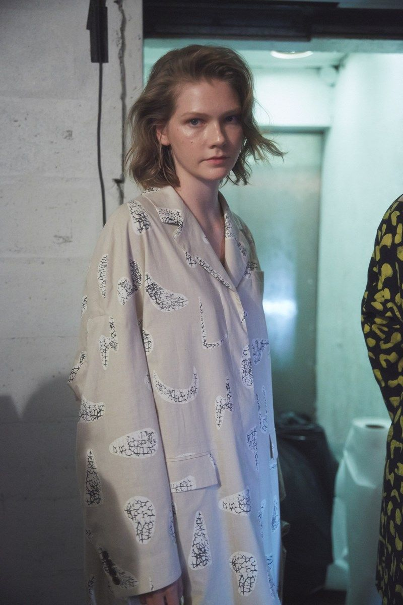 Backstage at Opening Ceremony SS16