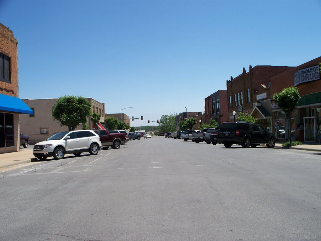 Panoramio Photo Of Downtown Elk City Ok Elk City City Downtown