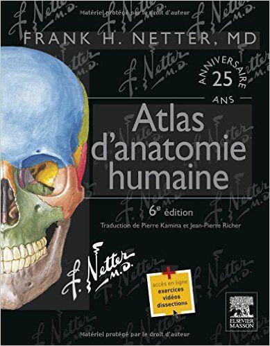 Atlas D Anatomie Humaine 6e Ed Amazon Ca Netter Frank H