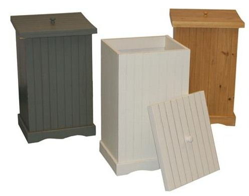 Kitchen Drawer Organizers On Build A Wooden Trash Bin By Monika