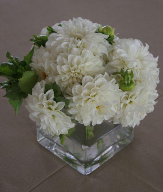Simple Flower Bouquets For Weddings: Dahlia Wedding Centerpieces