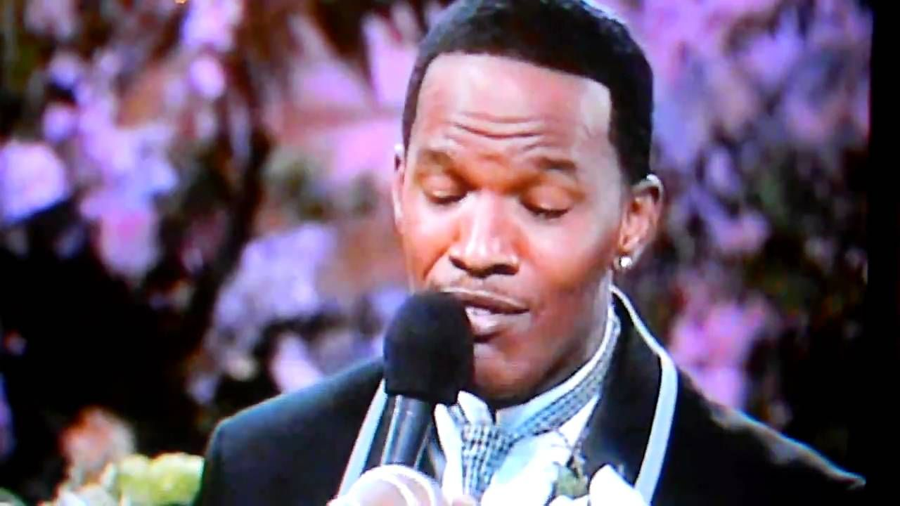 JAMIE FOXX SINGING IM MARRYING MY ANGEL TODAY ON HIS SHOW TO FANCY