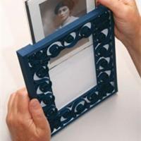 Comment fabriquer un cadre en carton d couvrons pas pas la technique pour laborer le fond - Fabriquer cadre photo carton ...