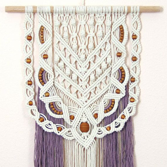 Large Wall Hanging Macrame Hippie Wall Hanging Macrame