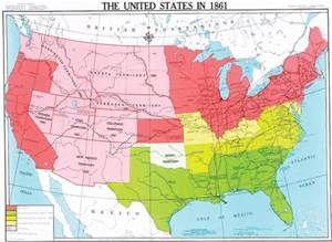 United States Map 1840 Bing Images The Crisis To The War 1820 To - Us-map-1840