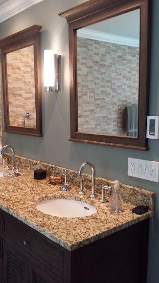 Granite Countertop In Master Bathroom Remodel In Old Lyme CT Www - Bathroom contractors ct