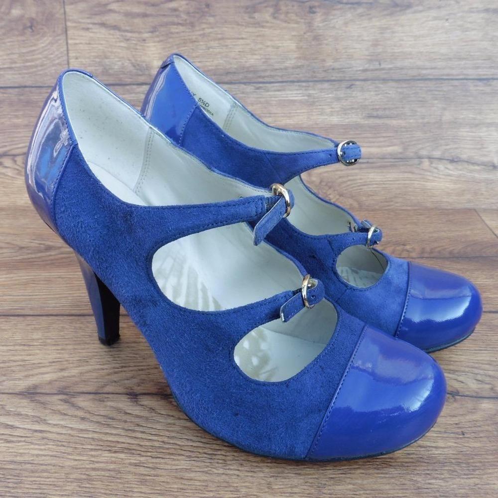 920bc03eda74 Size uk 5.5 d clarks cushion soft camelia kate purple smart work court shoes