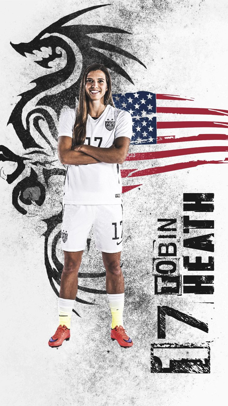 Uswnt iphone wallpaper tumblr - Uswnt Tobin Heath Design By