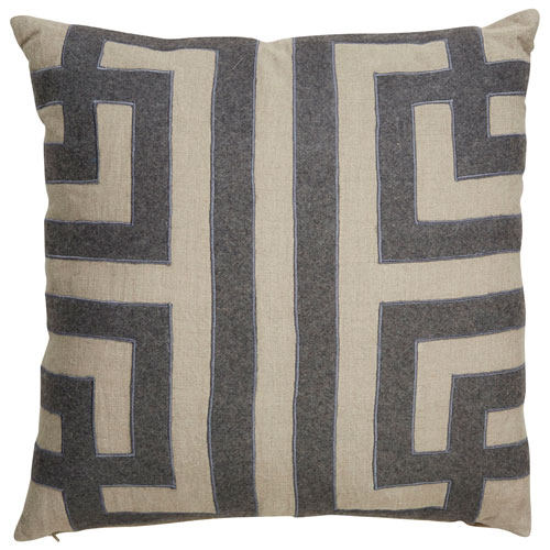 Jaipur Cosmic By Nikki Chu Oatmeal 22 In Pillow With Poly Fill Plc101484 P Bellacor Geometric Throw Pillows Throw Pillows Linen Pillow Covers