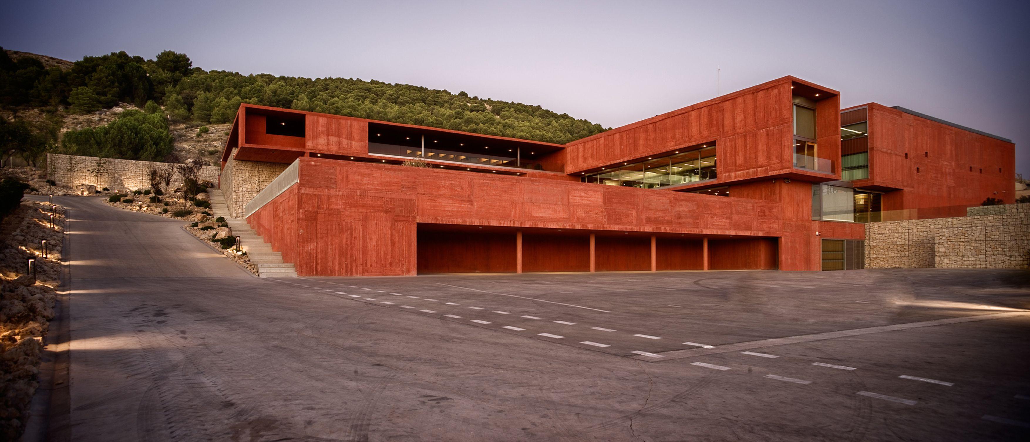 Amas4arquitectura Pago De Carraovejas Winery Divisare Architektur