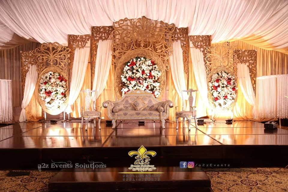Stage Design Vip Stage Wedding Designers Royal Wedding Flowers