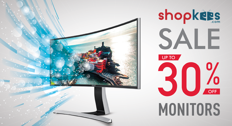 Shopkees #SALE! Up to 30% OFF on LG, Dell, HP & Samsung Computer