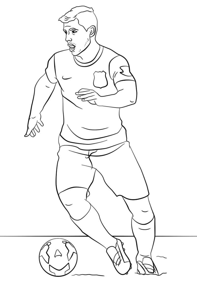 Messi Coloring Pages For Football Lovers Educative Printable In 2020 Coloring Pages Football Lovers Pumpkin Coloring Pages