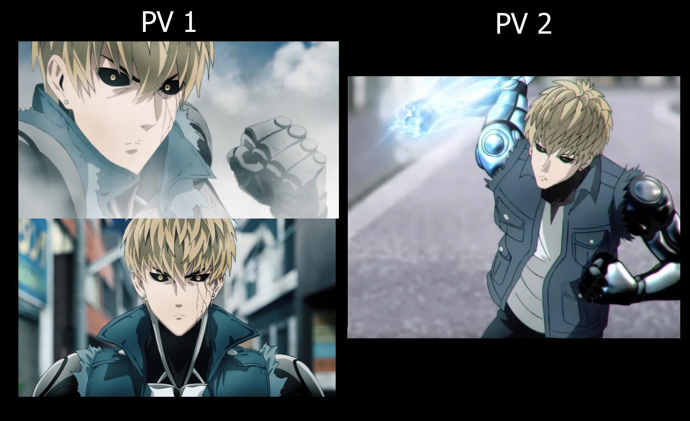 One Punch Man Season 2 Genos Comparison Https Ift Tt 2whhooq One Punch Man Season Tokyo Ghoul Cosplay Tokyo Ghoul Fan Art