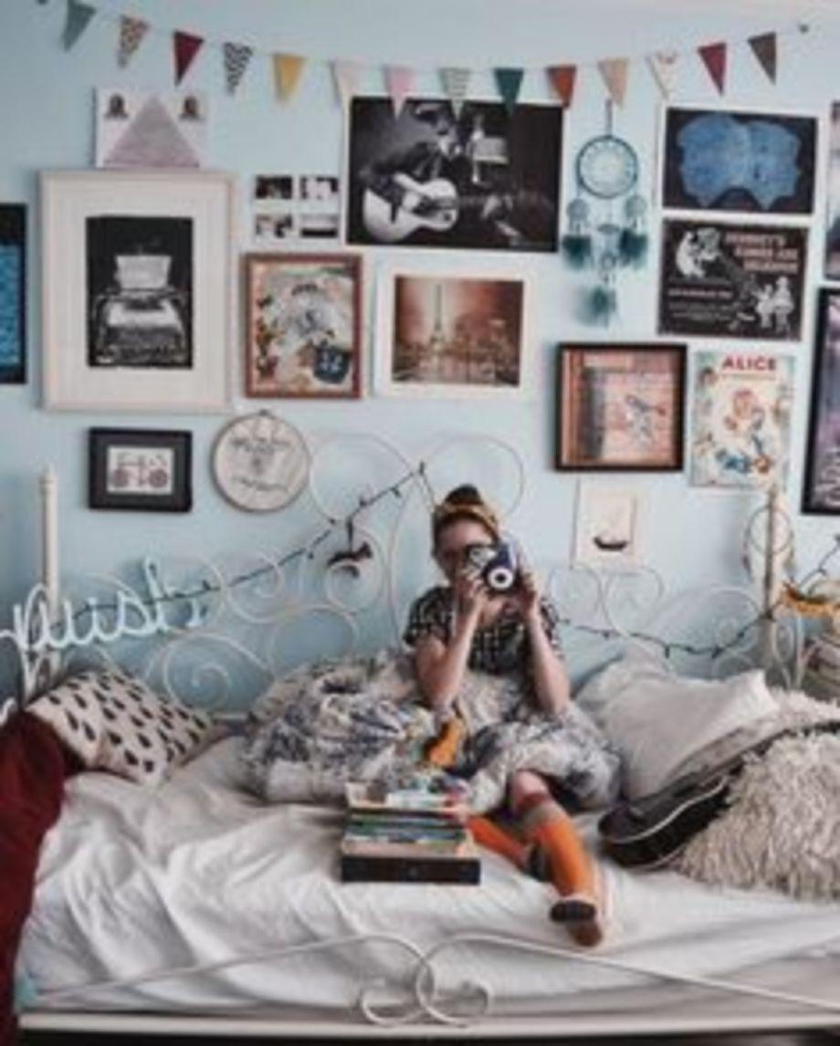 nice 9 Creative DIY Bohemian Style Home Decor Ideas https://about