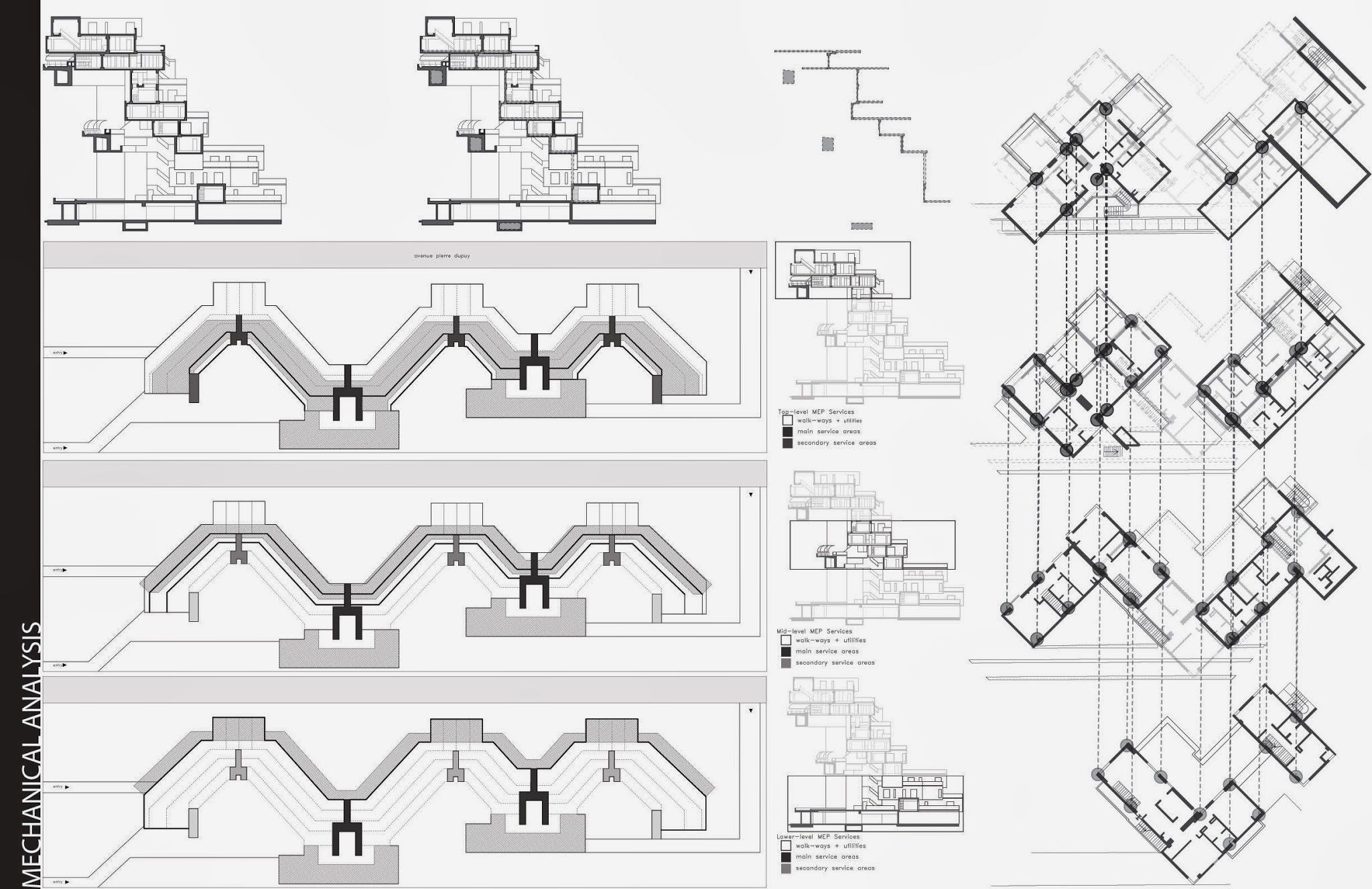 Especiesdeespaciosenconstruccion Habitat 67 Moshe Safdie Diagramas De Arquitectura Habitat Arquitectura