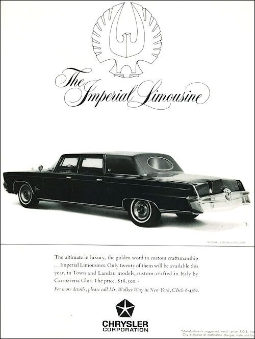 Photos 1958 Classic Chrysler Imperial Crown Limousine