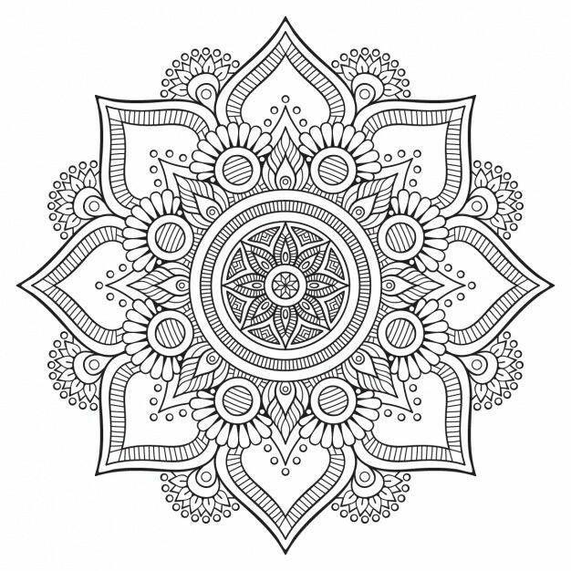 Pin de Barbara Baird-Connor en coloring pages | Pinterest | Mandalas ...