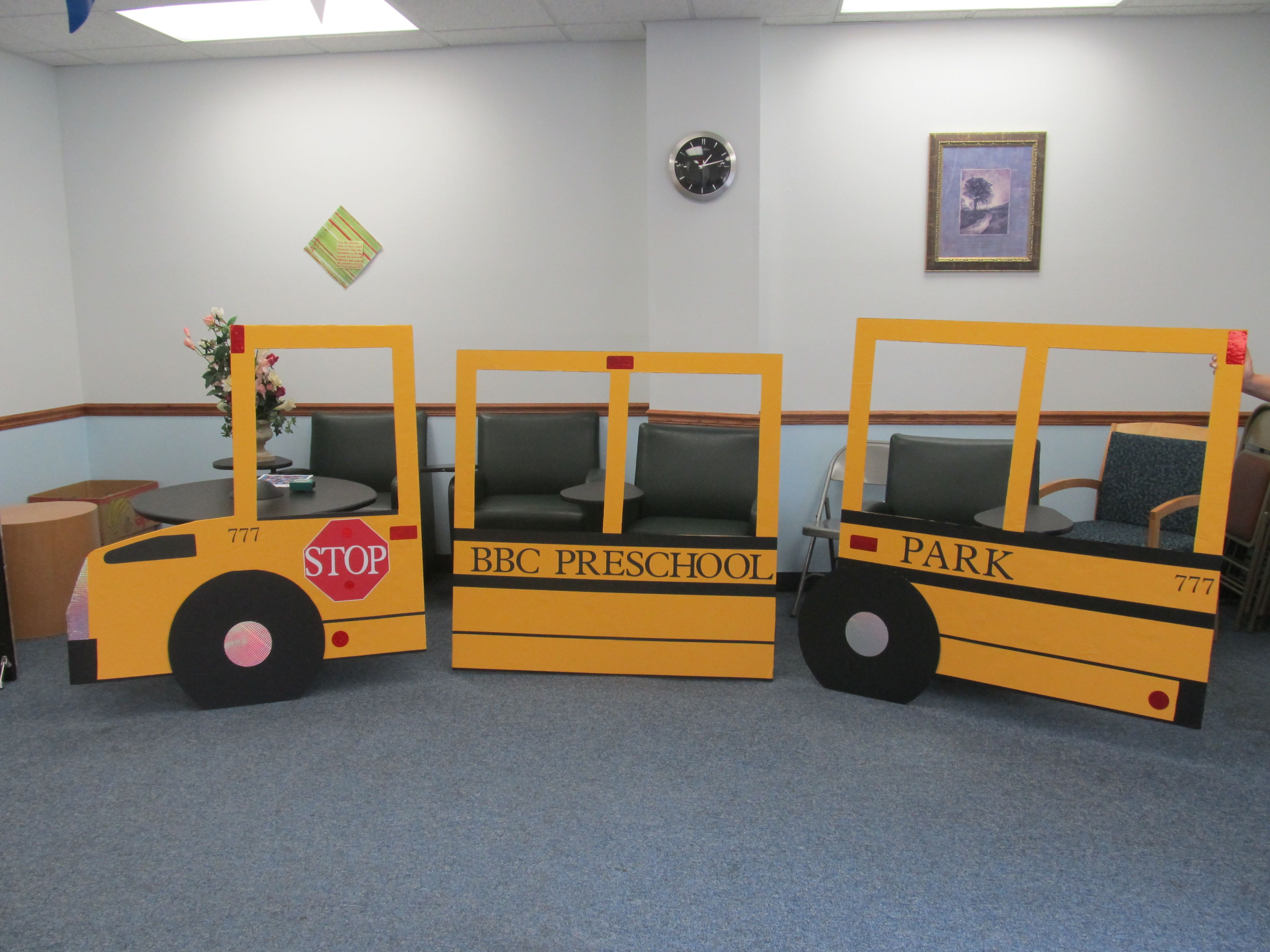Bus Made For A Children S Singing Performance