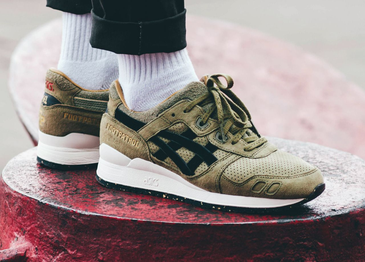 2015by Foot Gel Lyte Iii Smileymalone 'squad' Asics Patrol X BCorxed