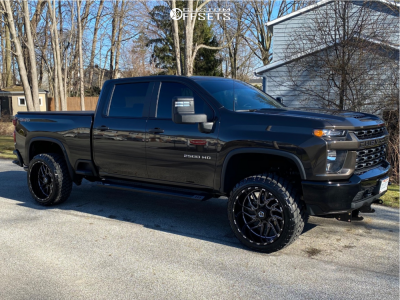 2020 Chevrolet Silverado 2500 Hd 24x12 44mm Tis 544bm In 2020