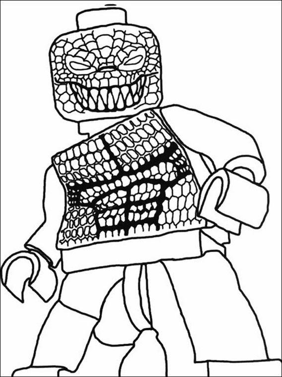 Lego Batman Coloring Pages 24 | Niños | Pinterest