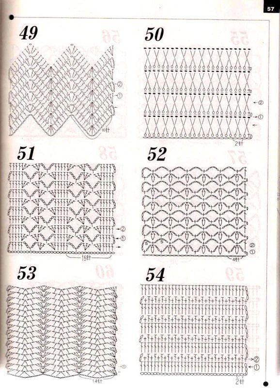 057.jpg | stitch 1 | Pinterest | Puntos crochet, Puntos y Canastilla