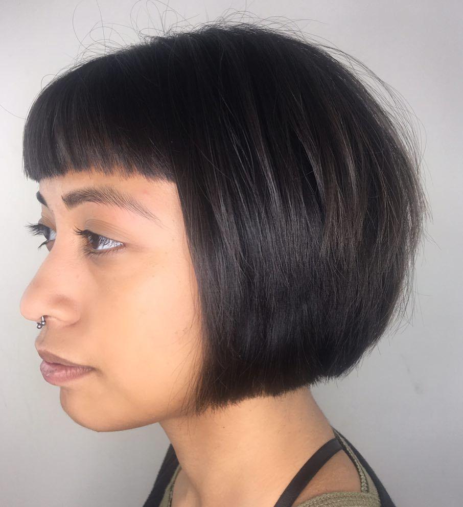hottest fringe bangs trending in hairstyles ideas
