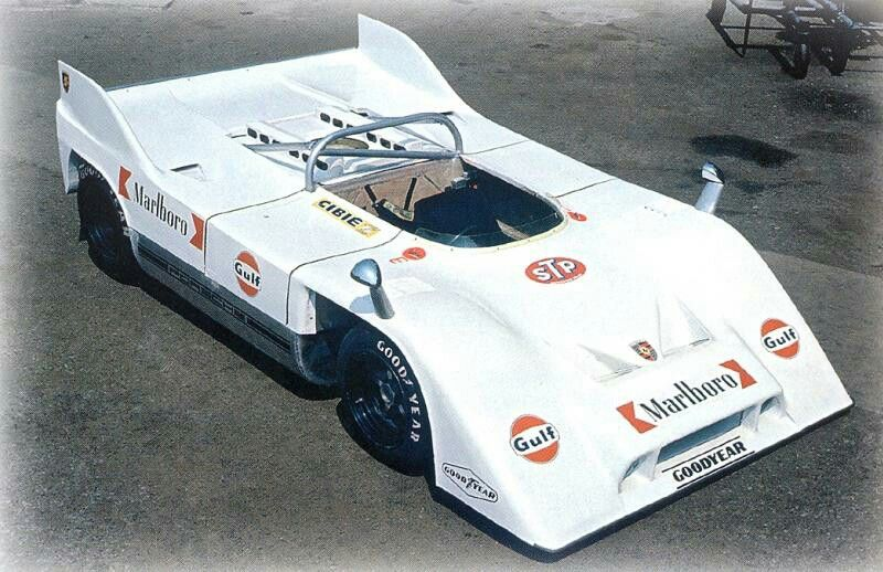 Porsche 917/10 Can Am présentation 1971