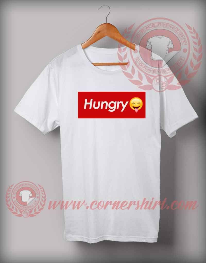 abc9f089 Hungry Emoji T shirt   Logo T shirts   Custom design shirts, Custom ...