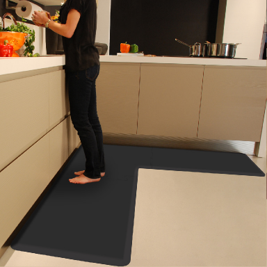 WellnessMat LSeries Kitchen comfort mat, L shaped