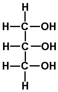 This is a glycerol which is a monomer of a lipid