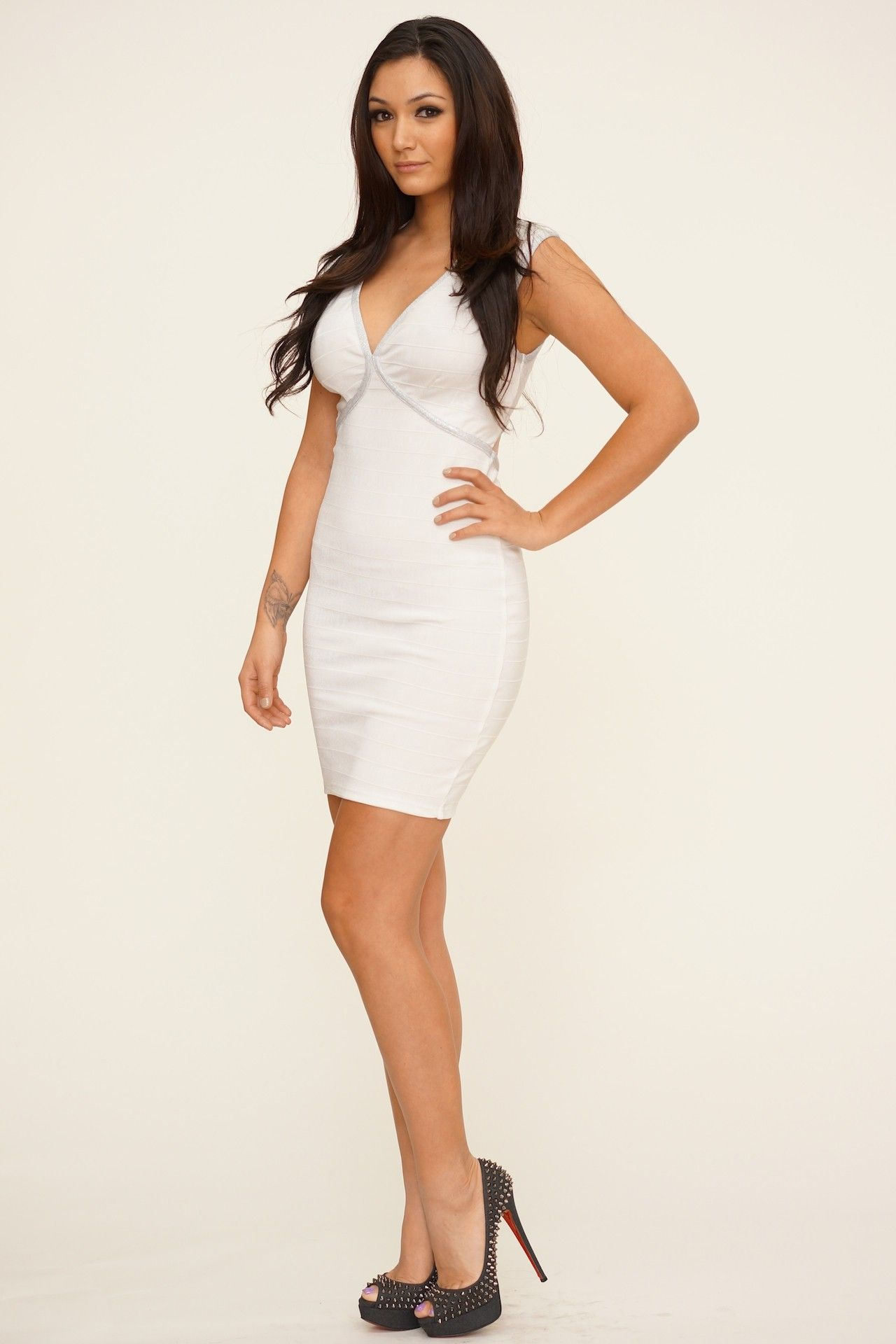a71f002686e8e dresses_645 | misa campo | White bandage dress, Dresses, White dress