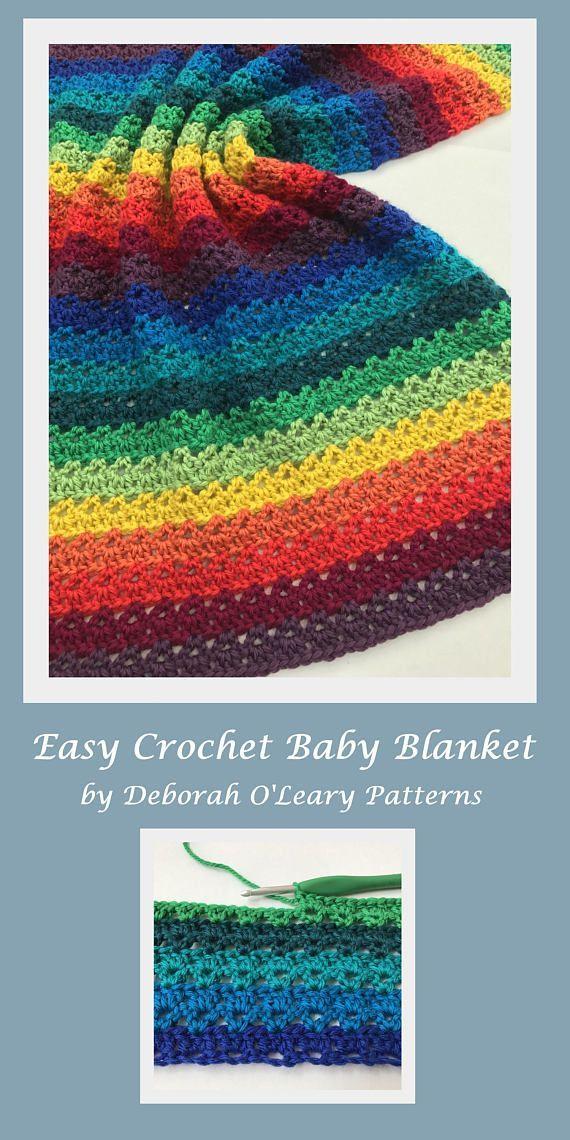 Crochet Baby Blanket Pattern Crochet Pattern Cherish Easy