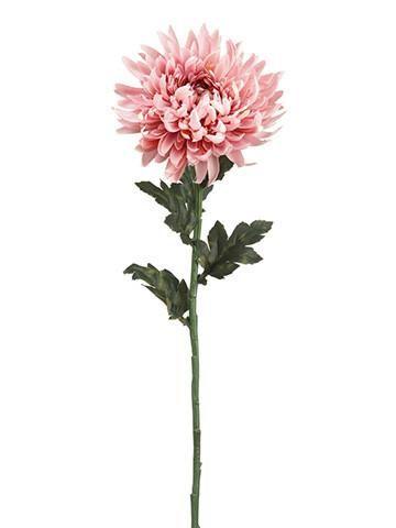 Mauve Pink Silk Chrysanthemum Stem Chrysanthemum Flower Tattoo Birth Flower Tattoos Chrysanthemum Tattoo
