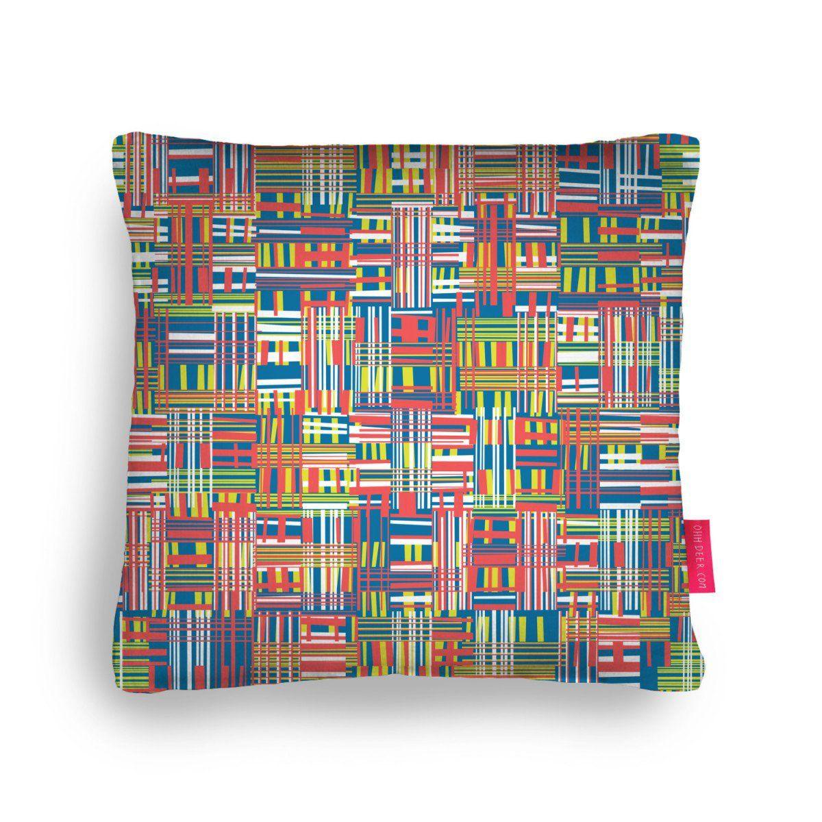Digital Weave Cushion by Peppy Pattern   Ohh Deer
