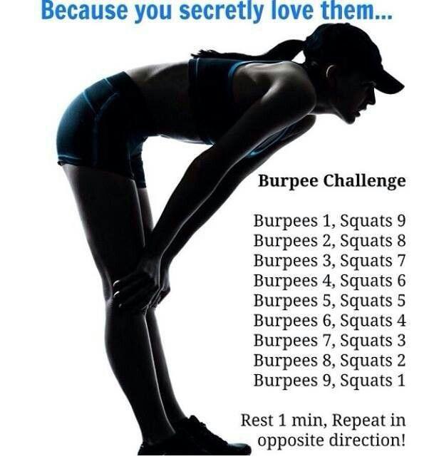 burpee squats