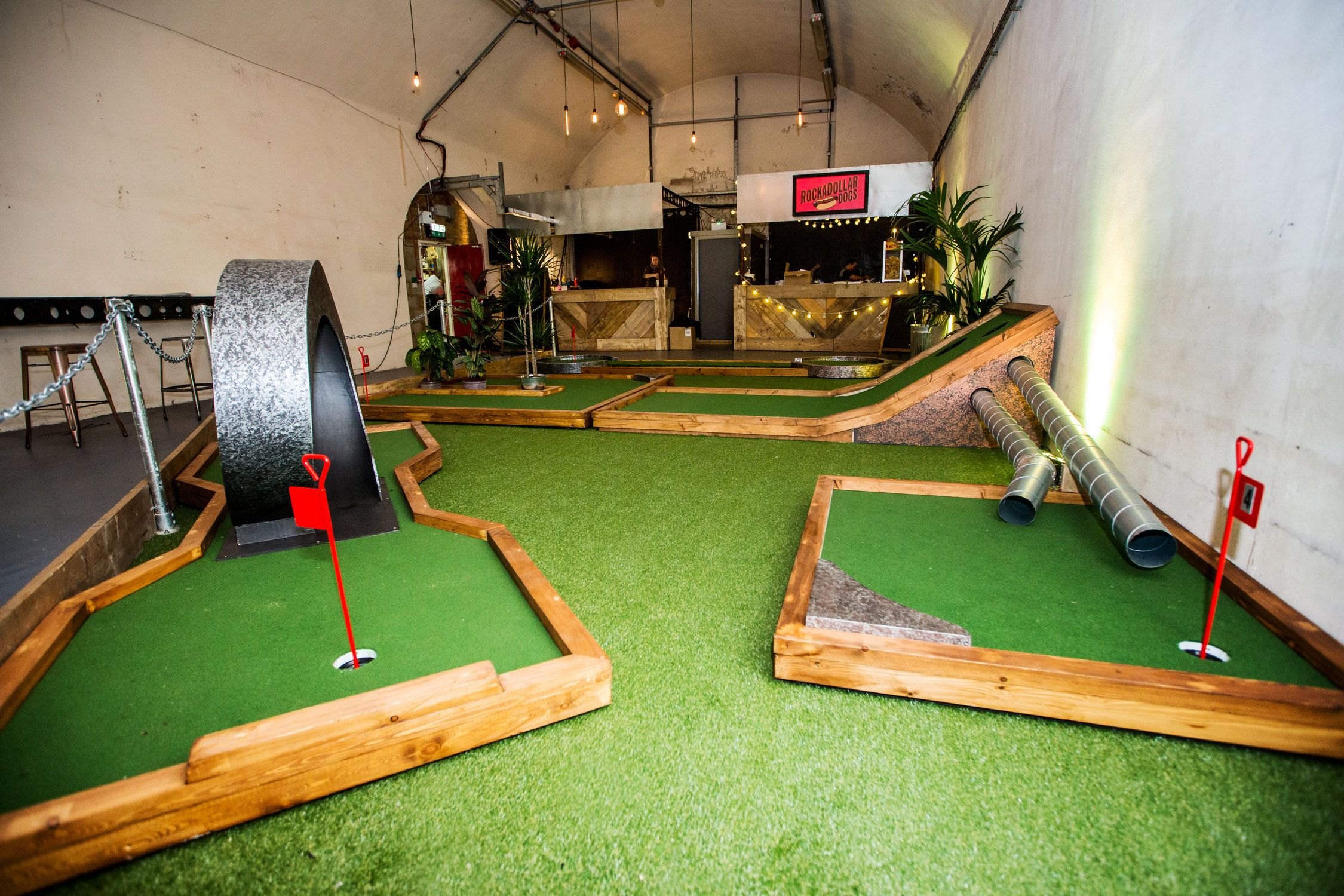 A Few Of The Crazy Golf Course Holes We Designed For