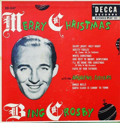 Bing Crosby - Merry Christmas Bing crosby and Merry