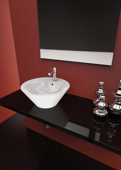 CORALLO LAVABO DA APPOGGIO O45 #arredamento #bagno | Lavabi bagno ...