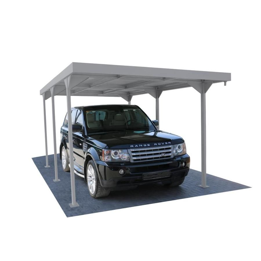 Duramax Building Products 9 37 Ft X 17 82 Ft Silver Metal Carport Lowes Com In 2020 Carport Metal Carports Duramax