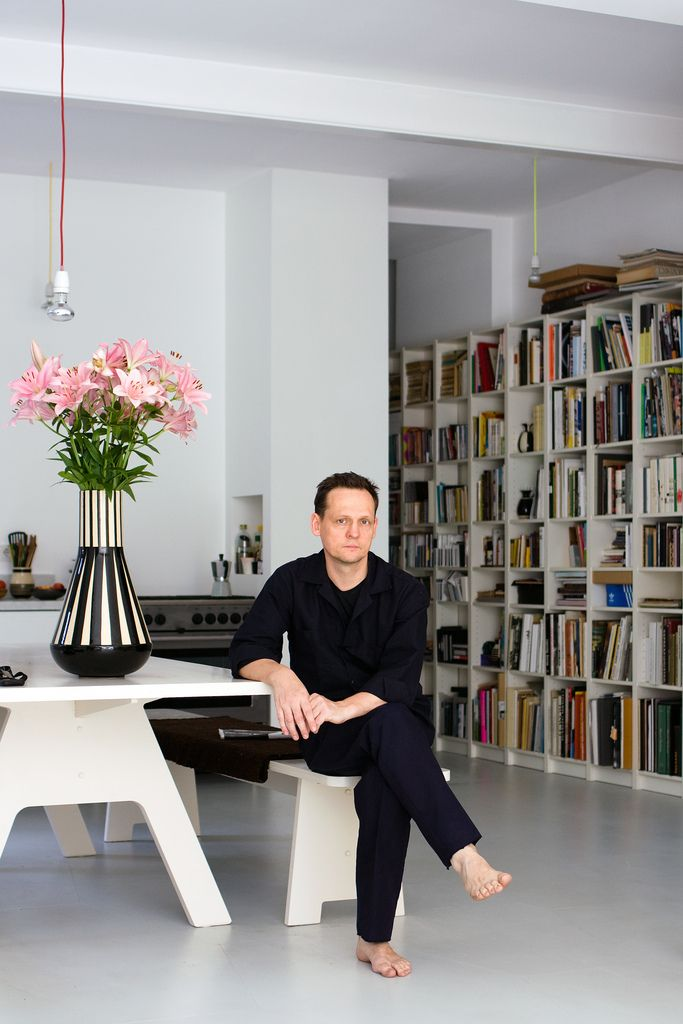At home: Carsten Nicolai