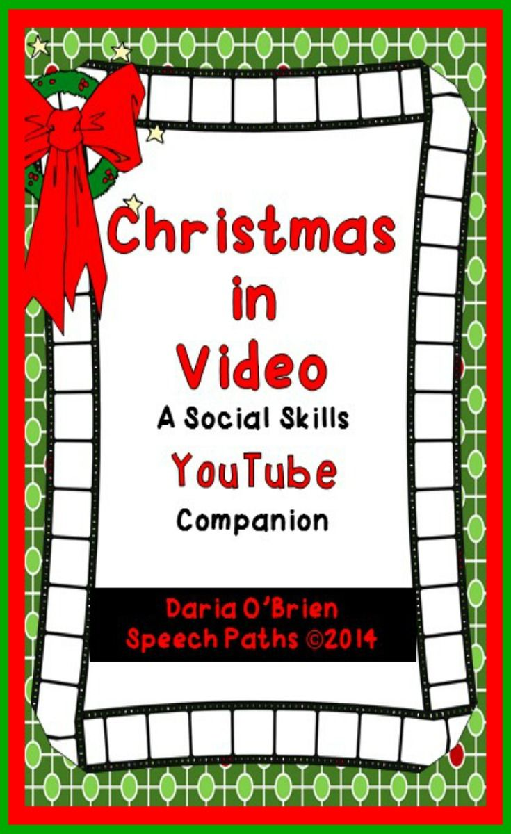 Three Engaging Lessons With Worksheets Using Christmas Themed Video