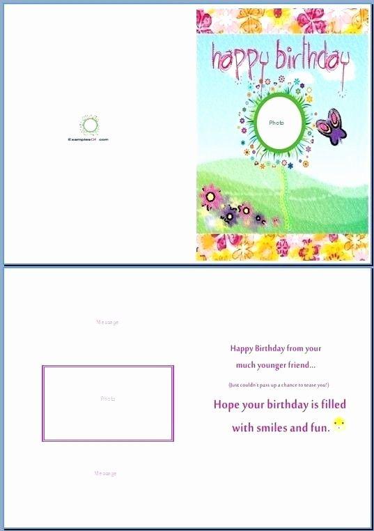microsoft word greeting card template fresh birthday card